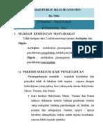SEJARAH PUBLIC HEALTH AND PHN (bu titih)