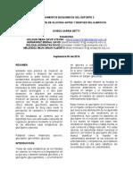 INFORME DE LABORATORIO MEDICION DE GLUCOSA , DAVID STEVEN HOLGUIN MERA