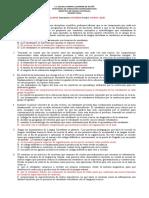Examen Didactica Lengua castellna. 2º semestre 2020
