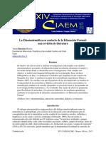 La etnomatematica en contexto con la educación formal.pdf