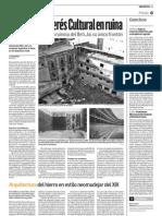 Un Bién de Interés Cultural en ruina (Diario de Navarra - 09/02/2011)