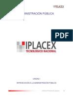 ADMINISTRACIÓN PÚBLICA iplasex