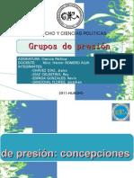 grupos de presion