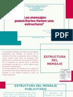 Estructura Del Mensaje publicitario
