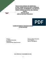COMPORTAMIENTO ORGANIZACIONAL. UNIDAD II. TERCERA PARTE. ALEXANDRA GOTERA.
