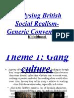 Analysing British Social Realism- Generic Conventions