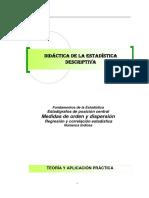 Didáctica de la estadística descriptiva
