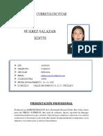 Edith Suarez Salazar- CV Documentado