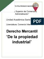 De la Propiedad Industrial
