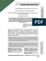 El Sistema Disciplinario Policial en La Ley 30714 - Autor José María Pacori Cari