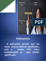 Semântica-Polissemia