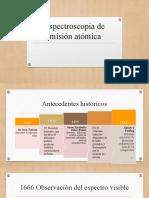 Espectroscopia de emisión atómica