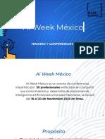 AI WEEK MEXICO _ Nov 16 - 20, 2020