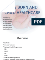Final ppt ofNEW BORN AND CHILD CARE