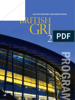 British GRI 2010 Program Book