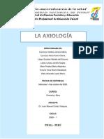 RESUMEN_ LA AXIOLOGÍA_