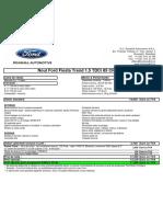 Noul Ford Fiesta Trend 1.5 TDCi 85 CP 10 usi