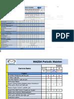 Mazda periodic maintenance schedules