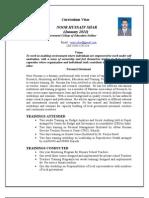 CV Noor Hussain
