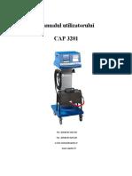 Manualul utilizatorului CAP 3201 CAPELEC