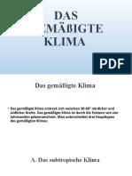 Das Klima, Die Pflanzen-Tierenwelt Europas.pptx