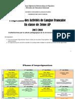 Progression- des activités en  classe 3ap.pdf · version 1.pdf