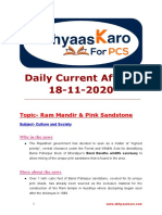 Daily Current Affairs 19th Nov 2020