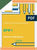 PREGUNTAS FRECUENTES 2019