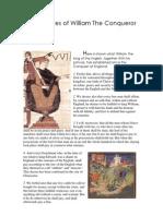 1. Statutes of William The Conqueror