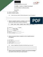 Exercícios sobre a história e a evolução do português.docx