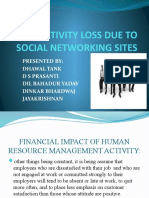 Productivity Loss Due to Social Networking Sites