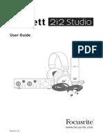 Scarlett 2i2 Studio 3G User Guide_EN