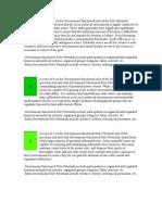 Role Potential Spectrum Definitions