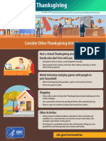 Alternate Thanksgiving Activities - CDC