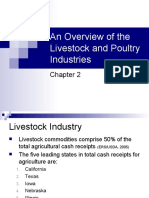 Overview of the Livestock and Poultry Industries