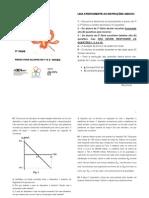 OBF 2009 - 3ª fase_Teórica