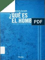 Emerich Coreth-Qué es el hombre-Esquema de una antropología filosófica