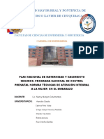 FACULTAD DE CIENCIAS DE ENFERMERIA Y OBSTETRICIA 3R0