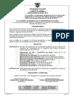 Resolucion95-2019  Calendario Academico Cohorte ll