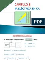 Capítulo 8 - Potencia eléctrica en CA