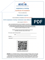 certificate for ascia anaphylaxis course copy