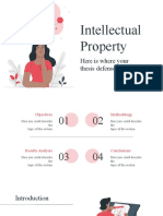 Intellectual Property Thesis Premium by Miguel