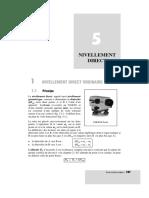 Chapitre5 Nivellement Direct