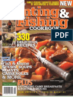 Hunting and Fishing Cookbook