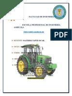 Acoples del tractor