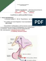 Les hormones hypothalamo-hypophysaires 3