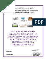 3ra asignacion DE PREMILITAR- 5to AÑO. MEDIOS DE COMUNICACION