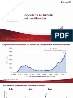 Le point sur la COVID-19 au Canada