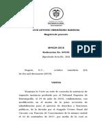 PRESCRIPCIÓN DELITO SEXUAL MENOR DE EDAD LUEGO DE IMPUTACIÓN SP4529-2019(54192)