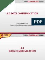 04 - Data Communication